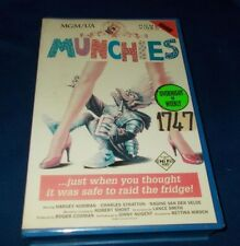 MUNCHIES VHS PAL CEL ROGER CORMAN BIG BOX EX RENTAL