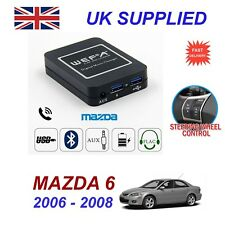 For Mazda 6 Music Streaming Bluetooth Telephone Charger SD AUX CD Digital Module