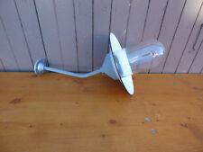 Alte Antike Emaillelampe Hoflampe Industrielampe Art Deco Bauhausstiel XXL
