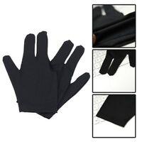 Spandex Snooker Billiard Cue Glove Pool Left Hand Three Finger Accessory Cool JO