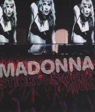 "MADONNA ""STICKY & SWEET TOUR"" CD+BLU RAY NEW+"