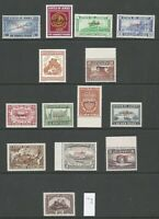 Jersey A LOVELY MNH VERY FINE & FRESH REVENUE SPECIMEN STAMPS TO £500