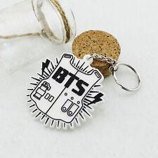 1PC New Arrival Fashion K-pop BTS Bangtan Boys Bulletproof Keychain Pendant
