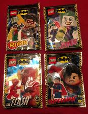 Lego Batman Especial-Joker, Robin, Flash y paquetes de Superman Mini Lámina