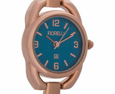 Fiorelli Women's 24mm Italia Watch - Rose Gold/Blue Face F253A