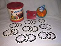 Vintage View Master Disney Favorites Gift Pak & 23 Reels in case in original box