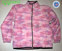 ZooFleece Pink Camouflage Women's Sweater Winter Jacket Tree Coat Hunting S-XL