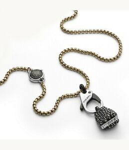 Long Hematite Necklace 20122N