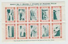 USA Cinderella stamp 9-15-40 Front thins as seen else nice Niagara Falls gum