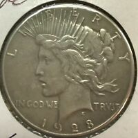 "1928 ""KEY DATE""  **** PEACE DOLLAR ****  L@@K AT PICTURES!!!!!    #1326"