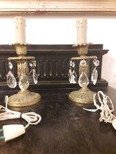 coppia comodini bianchi in vendita - Lampade | eBay