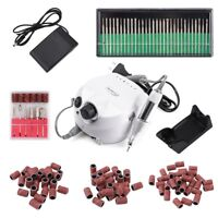 35000RPM 30W Electric Nail Art Drill File Pedicure Manicure Machine With Cutter