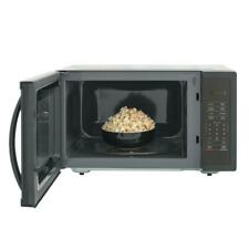 Magic Chef 1.6 cu. ft. Countertop Microwave in Black with Gray Cavity