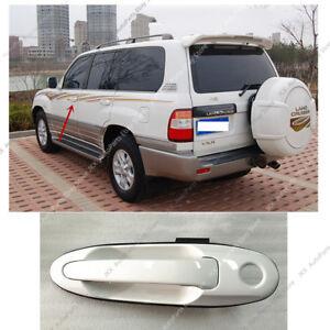 For 98-07 Land Cruiser LC100 &Lexus LX470 LEFT FRONT Door Outside Handle White k