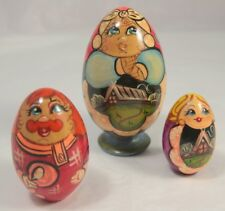 Colourful Vintage Russian Doll