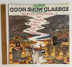 Goon Show Classics BBC 1974 Vintage Vinyl Record LP TV Show Recordings