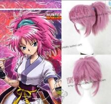 Machi Rose Red Ponytail Wig Styling Synthetic Cosplay Wig + cap