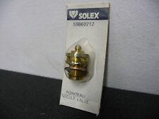 POINTEAU DE CARBURATEUR SOLEX (Ø 12 mm) A BILLE 1,7 - SOLEX NEUF