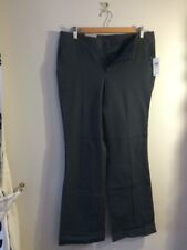 Gap Ladies Trousers Size 10 Charcoal Grey