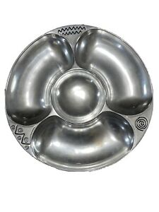 """The Wilton Armetale Co. Pewter Vegetable Tray, Serving Platter 14"""""""
