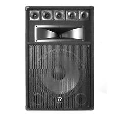 Enceinte Sonorisation Passive BOOMTONE DJ BM15 - 3 Voies / 500 Watts Max - Boome