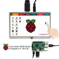 Ecran Tactile Lcd Hdmi De 5 Pouces Raspberry Pi 3 Affichage Moniteur Lcd 80 J7Y5