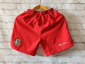 Football shorts soccer FC Wales Away 2008-2010 Champion jersey Europe UEFA Youth