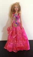 VINTAGE Mattel Barbie Doll 1999 in Rosa Abito