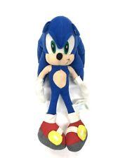 "Vintage SEGA Sonic The Hedgehog 15"" Plush Figure 1991-2006 Toy Network Rare !!!"