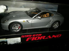 1:18 HOT WHEELS ELITE FERRARI 599 GTB Fiorano ARGENTO/SILVER IN SCATOLA ORIGINALE