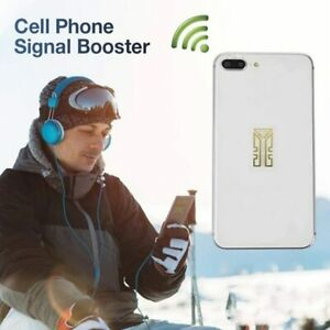 Cell Phone Signal Enhancement SP-4 Stickers-Signal Booster Antenna Amplifier
