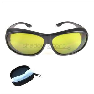 IPL Safety Glasses For 190nm-2000nm IR Infrared Laser Protective Goggles OD4+ UK