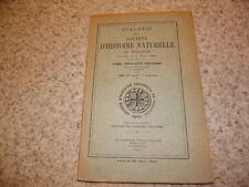 1930.Société histoire naturelle Toulouse.géologie nord Saint-Girons.pyrénées.