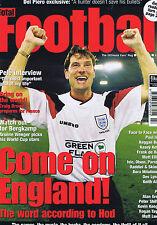 GLENN HODDLE / PELE / CRIAG BROWN / ARSENE WENGERTotal Football 36July1998