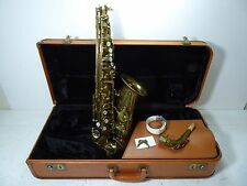 SELMER MARK VI 1965 VINTAGE ALTO SAXOPHONE WITH HIGH F# KEY NEW KANGAROO PADS !