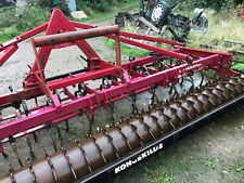 More details for konskilde 4 metre heavy duty cultivator with packer roller £1200