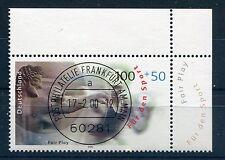 Bund Mi-Nr 2094  Ecke 2 (100+50) -Sport u.Frieden-  EST Frankfurt/M 2000