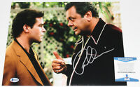 PAUL SORVINO SIGNED 'GOODFELLAS' PAULIE 11x14 MOVIE PHOTO PROOF BECKETT COA BAS