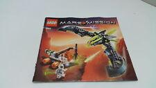 LEGO!!! Istruzioni solo!!! PER 7693