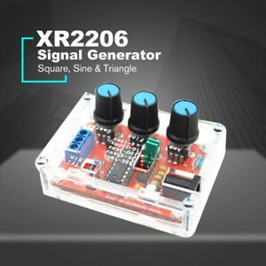 XR2206 Signal Generator Sine/Triangle/Square Wave Frequency Adjustable