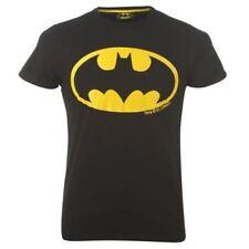 Magliette , maglie e camicie neri per bambini dai 2 ai 16 anni girocollo poliestere