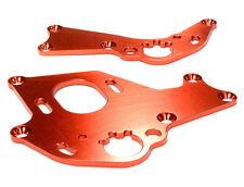 C26303RED Integy Billet Machined Motor Mount Plates for HPI 1/10 Sprint 2