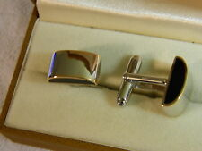 Clogau Sterling Silver & 9ct Welsh Gold Cuff Links RRP £350.00