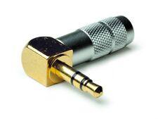 Oyaide P-3.5 Right Angled Gold Plated Mini Jack Plug