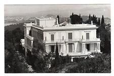 Achillion - Corfou Real Photo Postcard c1950's