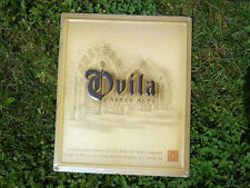 "Ovila Abbey Belgium Beer Sign Tin Metal Sierra Nevada Brewing Chico CA 12"" x 10"""