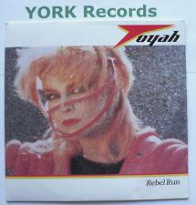 "TOYAH - Rebel Run - Excellent Condition 7"" Single Safari SAFE 56"