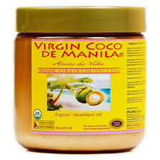 Organic 100% pure Virgin Coconut Oil ManilaCoco NON-COMEDOGENIC MOISTURIZER 16oz