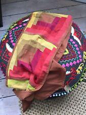 Cotton Long Table runner Retro Yellow  Fabric Tablecloth Rwanda  Cool BOHO