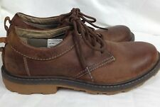 WINDRIVER Men Casual Walking Tarantula Shoes Size 7.5 Brown Leather Arch Support